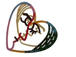 Escultura Face to Face de Gerstein na Inter Studio