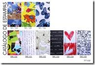Catálogo de estampas em tecido e papel da Artefinotrapo página três