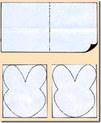 Recorte os moldes no papel cartão