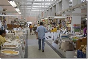 Novo pavilhão de grãos do mercado de João Pessoa