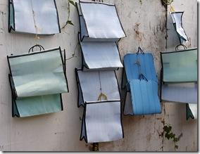Sacolas retornáveis para uso em feiras e mercados