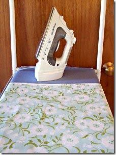 Prepare o tecido do revestimento
