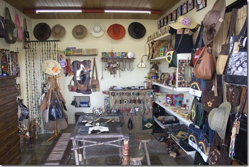 Essa é a loja da Ivânia no Mercado de Artesanato Paraibano