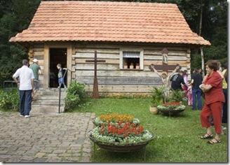 Casa abençoada por João Paulo II em sua visita à Curitiba