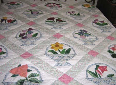 Colcha em patchwork da Sonia do La Glycine