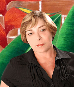 Marjorie Rocha e Oliveira, a artista dos lápis de cor