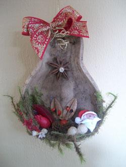 Cabaça natalina de Cristiane Minelli
