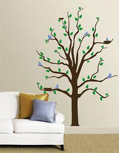 Os galhos da árvore podem segurar seus cabides