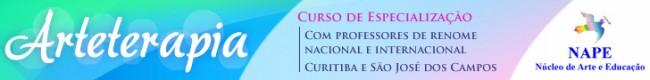 Banner da NAPE, curso de Arteterapia