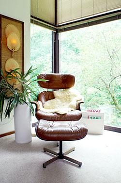 Poltrona Eames, uma peça de design famosa