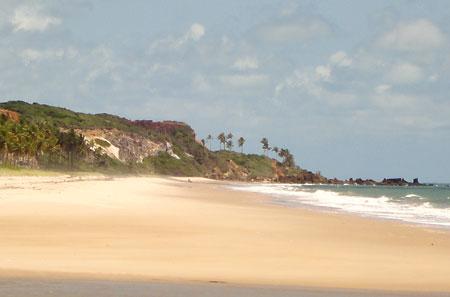 Barra de Graú olhando para os lados de Coqueirinho