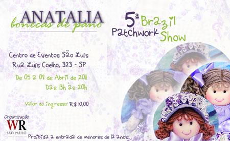 Patchwork Brazil Show, feira em São Paulo