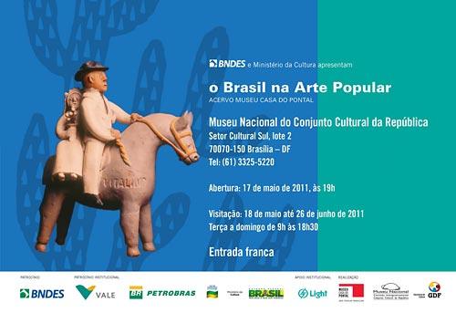 O Brasil na Arte Popular, exposição no Museu Nacional de Brasília