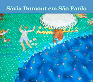 Curso de bordado de Sávia Dumont