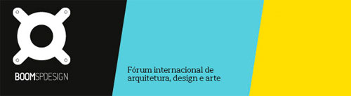 BoomSpDesign Fórum Internacional de Arquitetura, Design e Artes