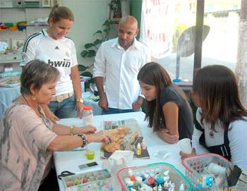 Aulas de artesanato e pintura no Atelier Eliart
