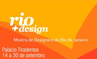 Mostra de designers do Rio de Janeiro Rio+Design