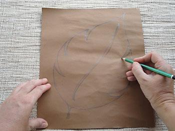 Desenhe a figura que deseja para a sua almofada