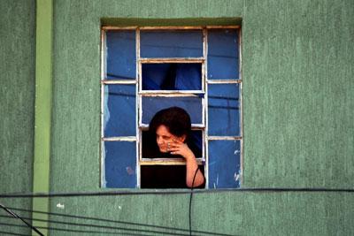 Foto de Hélvio Romero para a exposição Janelas Paulistanas