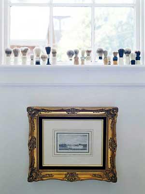 Banheiro também é espaço para mostrar uma coleção