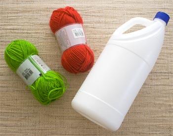 Material para porta-objetos com reciclagem