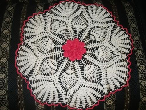 Classificados da Vila com trabalhos em crochê
