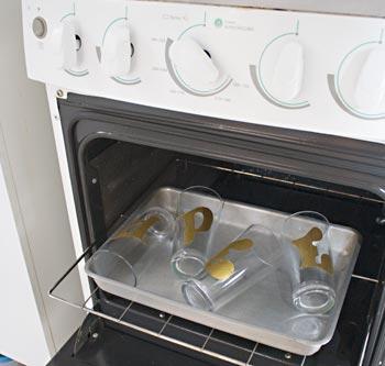 Leve para queimar em forno doméstico