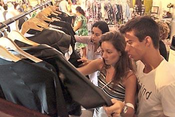 Moda é uma dos fortes do evento O Mercado
