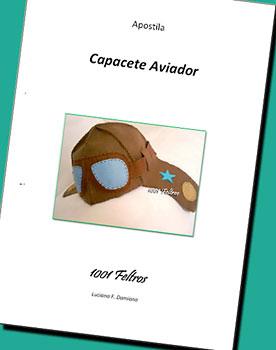 Capa da apostila Capacete de Aviador