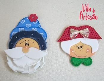 Casal Noel prontinho