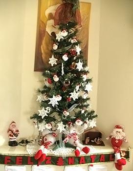 Enfeites de crochê para a árvore de natal