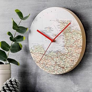 Mapas decorando objetos