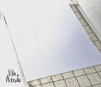 Imprima e recorte as letras