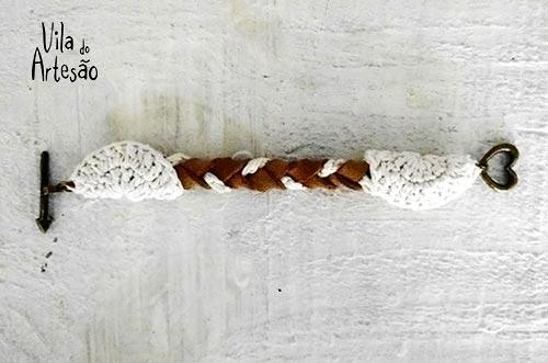 Coloque as ferragens do fecho