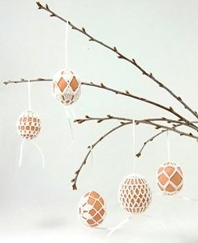 Ovos para uma árvore de Páscoa