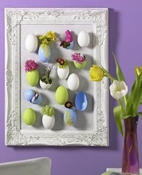 Ovos de plásticos emoldurados