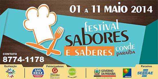 Banner festival Sabores e Saberes