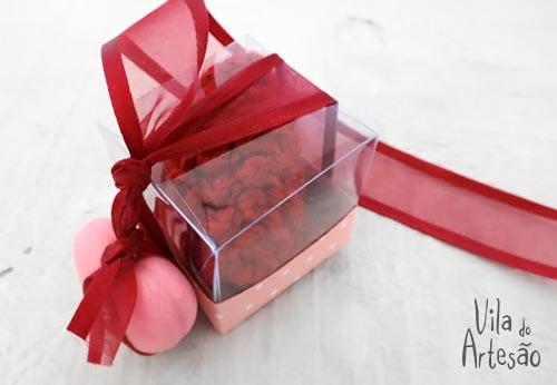 Embale seu sachê como um presente especial