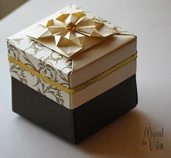 Embalagem para doces e bem-casados