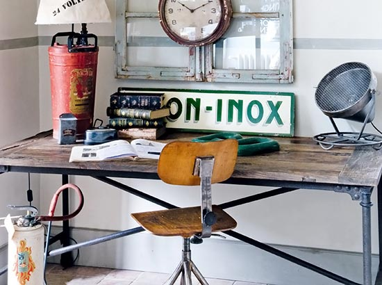 French Industrial Design Home Decoration