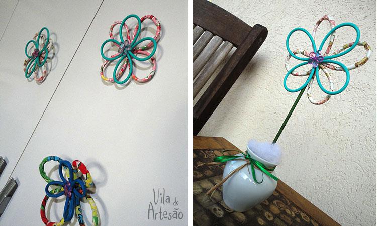 Como fazer flores com uma dica de reciclagem