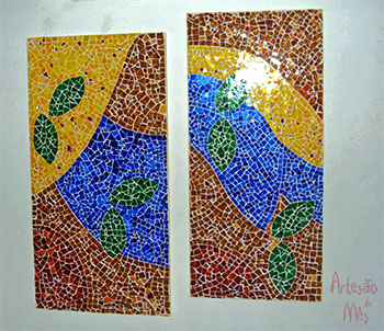 Dípticos em mosaico