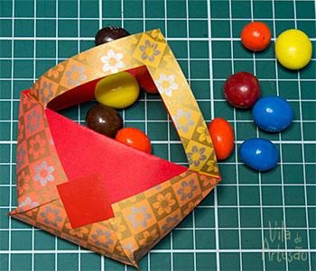 Embalagem para doces e lembrancinha