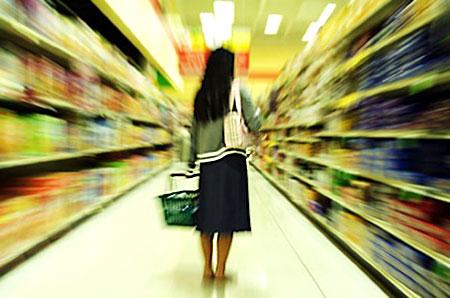 Consumidor com grande lista de desejos