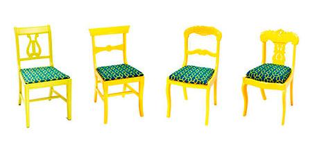 Cadeiras diferentes se tornam jogo