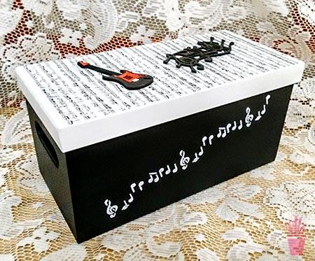 Caixa organizadora para homens