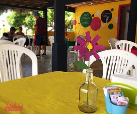 Projetos da Vila do Artesão no Turek Grelhados Bar