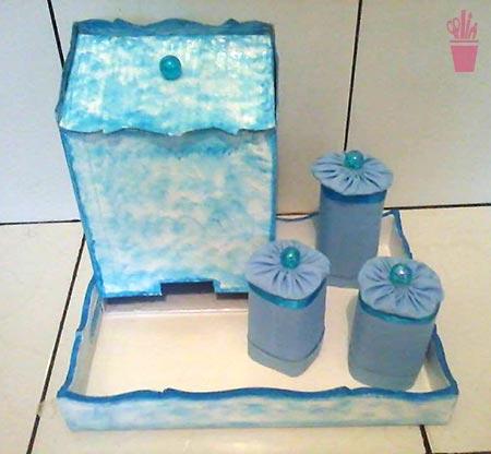 Kit de higiene com reciclagem