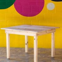 Como fazer uma mesa de madeira simples