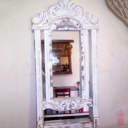 Espelho já foi cadeira